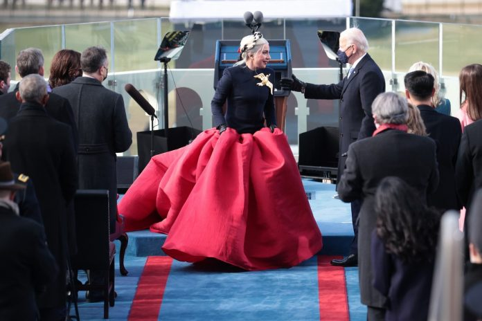 Joe Biden Settlement live streaming: the performances of Lady Gaga and Jennifer Lopez at the Inauguration Day